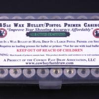 M.) .45 Wax Bullet Brass (Large Pistol Primer Drop-In) 50ct-0