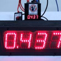 (U2) Gunslinger Timer - Standard Audience Display- TWO LANE PACKAGE-0