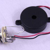 """(R) Piezo Transducer with 1/4"""" Jack-0"""