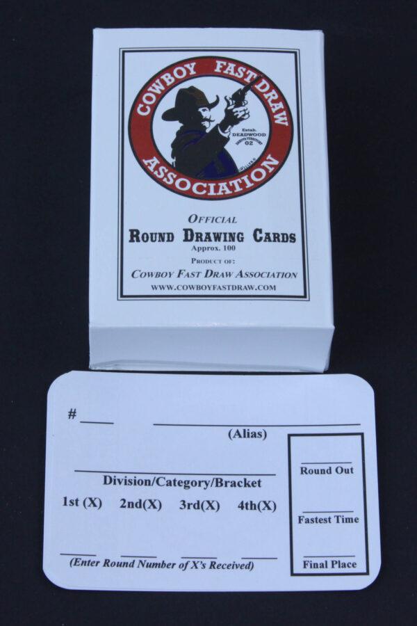 Cowboy Fast Draw Drawing Cards-0