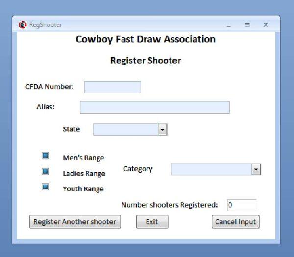 CFDA Scoring Program 20.0-121