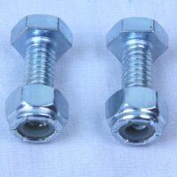 "1/4"" x 3/4"" Bolts with Lock Nuts (Set of 2)-0"