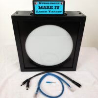 Mark IV Laser Target Only - Includes Y-2 & 2' Cat 5 (Blue)