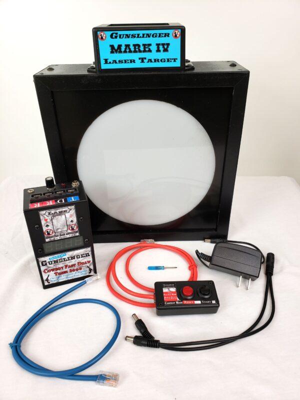 Gunsinger Timer - Mark IV Laser Target Combo Package