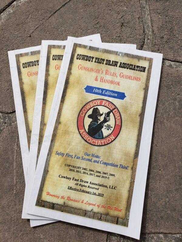 Gunslinger's Rules & Handbook - 10th Edition (Set of 3)