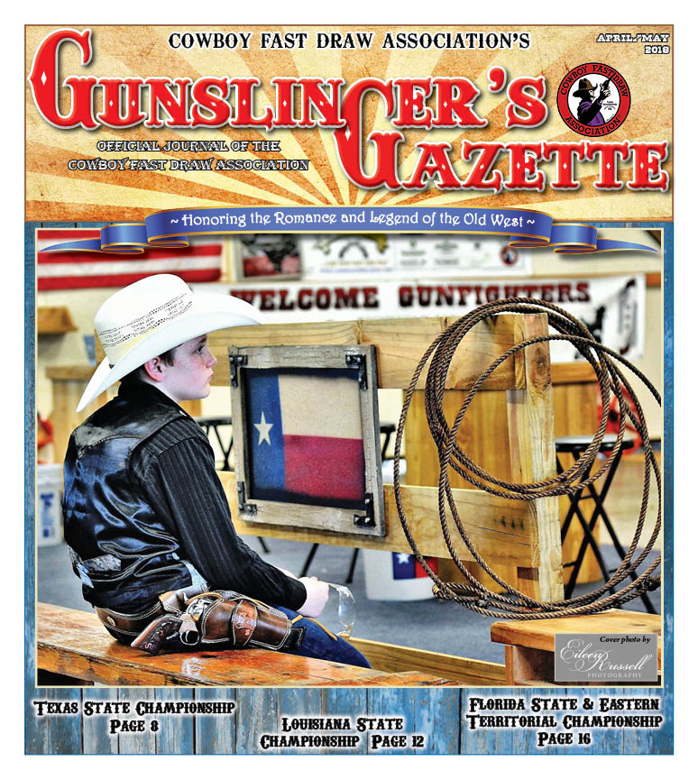 GunslingersGazette April May 2018 cover