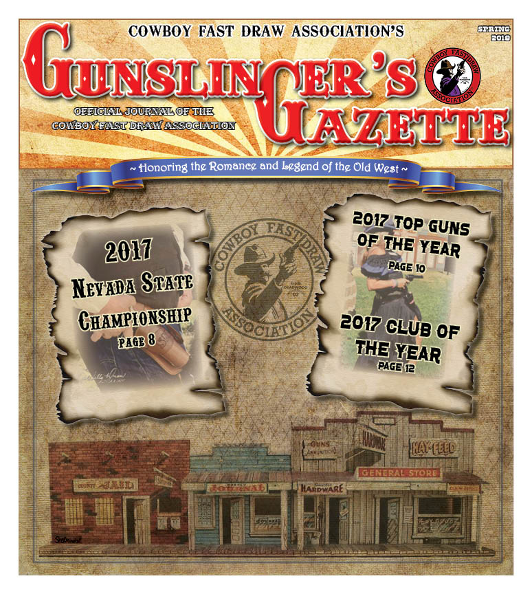 GunslingersGazette Spring 2018 cover